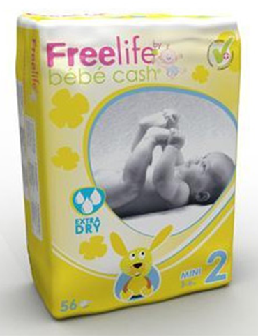 Bebe Cash Freelife luiers